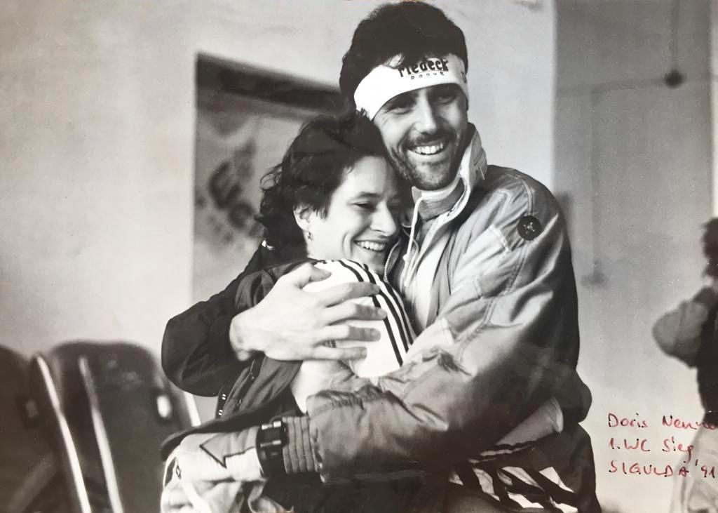 Doris Neuner, 1. Weltcup Sieg, Sigulda 1991 | Habtmann Restructuring GmbH, Tirol/Wien